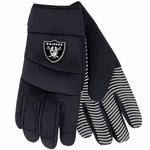 Oakland Raiders Mens Utility Gloves