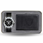 Oakland Raiders Mens Watch Gift Set