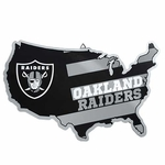 Oakland Raiders Metal Raider Nation Sign