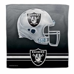 Oakland Raiders Micro Fiber 16x16 Towel