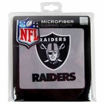 Oakland Raiders Microfiber Cleaning Cloth