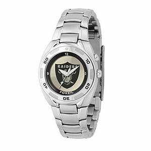 Oakland Raiders Midsize Fossil Kaliedo Watch - Click to enlarge