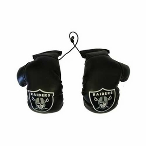 Oakland Raiders Mini Boxing Gloves - Click to enlarge
