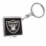 Oakland Raiders Mini Compact Key Ring
