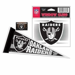 Oakland Raiders Mini Fan Pack Set