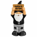 Oakland Raiders Mini Gnome Sign