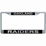 Oakland Raiders Mirror License Frame