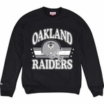 Oakland Raiders Mitchell and Ness Helmet Crew