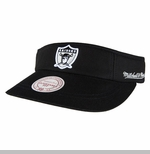 Oakland Raiders Mitchell & Ness 1963 Summer Visor