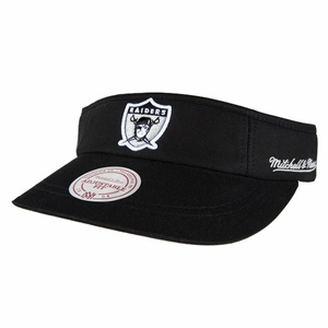Oakland Raiders Mitchell & Ness 1963 Summer Visor - Click to enlarge
