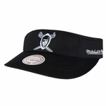 Oakland Raiders Mitchell & Ness 1960 Summer Visor