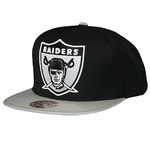 Oakland Raiders Mitchell & Ness 1963 XL Logo Snapback