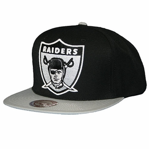Oakland Raiders Mitchell & Ness 1963 XL Logo Snapback - Click to enlarge