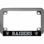 Oakland Raiders Motorcycle License Frame