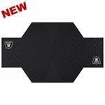 Oakland Raiders Motorcycle Mat
