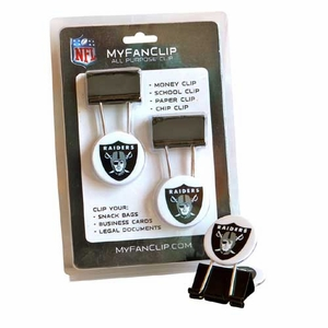 Oakland Raiders My Fan Clip - Click to enlarge
