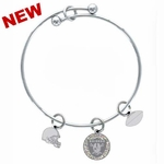 Oakland Raiders Mystique Bracelet