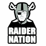 Oakland Raider Nation Lapel Pin