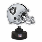 Oakland Raiders Neon Desk Lamp