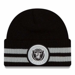 Oakland Raiders New Era 2 Stripe Remix Knit