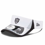 Oakland Raiders New Era 2013 Training Visor