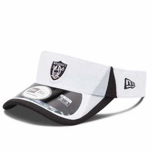 Oakland Raiders New Era 2013 Training Visor - Click to enlarge