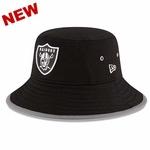 Oakland Raiders New Era 2016 Black Training Camp Bucket Hat