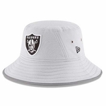 Oakland Raiders New Era 2016 Grey Training Camp Bucket Hat