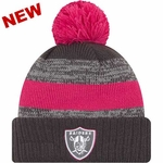 Oakland Raiders New Era 2016 Official Breast Cancer Awareness Knit