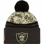 Oakland Raiders New Era 2016 Official Salute to Service Knit