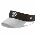 Oakland Raiders New Era 2016 Official Sideline Visor