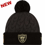 Oakland Raiders New Era 2016 Official Women�s Salute to Service Knit