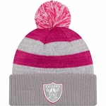 Oakland Raiders New Era 2016 Women's Breast Cancer Awareness Knit