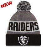 Oakland Raiders New Era 2016 Youth Official Sport Knit