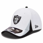 Oakland Raiders New Era 39Thirty 2013 Training Camp Cap