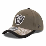 Oakland Raiders New Era 39Thirty 2014 Salute to Service Cap