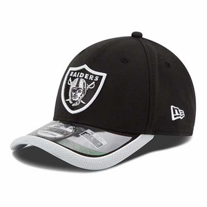 Oakland Raiders New Era 39Thirty 2014 Sideline Flex Cap - Click to enlarge