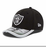 Oakland Raiders New Era 39Thirty 2014 Sideline Flex Cap