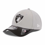 Oakland Raiders New Era 39Thirty 2015 Alternate Draft Cap