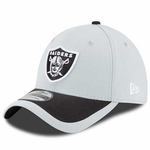 Oakland Raiders New Era 39Thirty 2015 Fan Sideline Cap