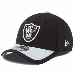 Oakland Raiders New Era 39Thirty 2015 Sideline Cap - Click to enlarge