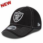 Oakland Raiders New Era 39Thirty Crux Line Cap