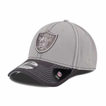 Oakland Raiders New Era 39Thirty Graphpipe Classic Cap