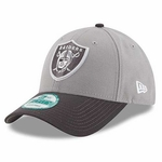 Oakland Raiders New Era 9Forty Grey League Cap