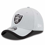 Oakland Raiders New Era 39Thirty Sideline Reverse Color Cap