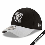 Oakland Raiders New Era 39Thirty State Reflective Cap
