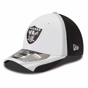 Oakland Raiders New Era 39Thirty Training Camp Cap - Click to enlarge