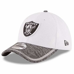 Oakland Raiders New Era 39Thirty White 2016 Training Camp Cap