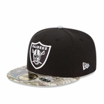 Oakland Raiders New Era 59Fifty 2014 Salute to Service Cap