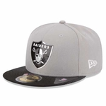 Oakland Raiders New Era 59Fifty 2015 Alternate Draft Cap